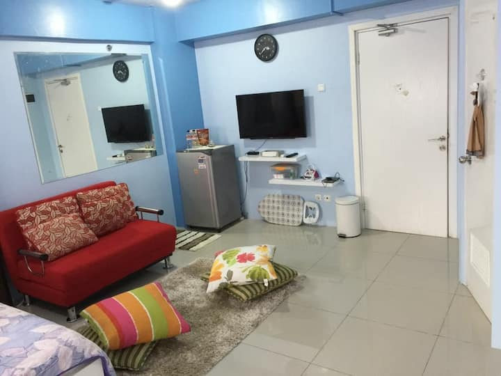 A Big Cozy Studio in Jakarta.