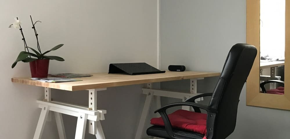 Studio in central Stockholm