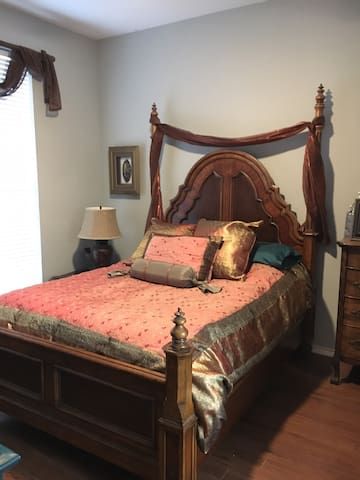 The Rockwall Sanctuary Master Bedroom