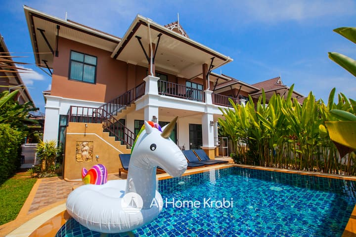 ☆ Alex Pool Villa Ao Nang Soi 1 / FREE TUKTUK ☆