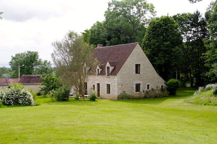 Maison en pierre avec Lac & Foret - Fontaine-Simon - Dům