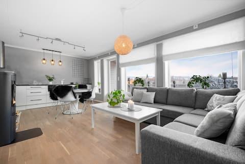 Moderne leilighet i Røros sentrum