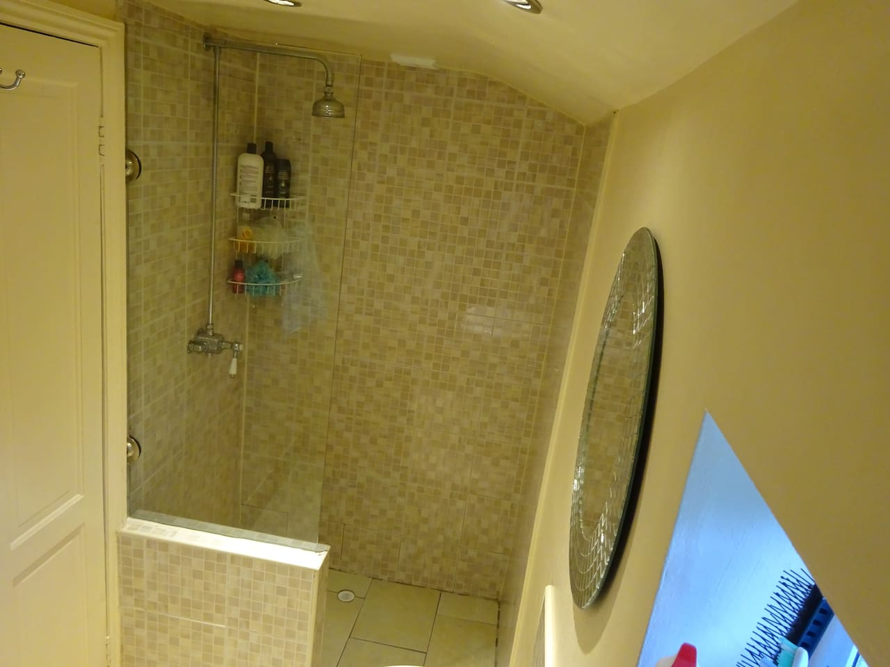 double size shower