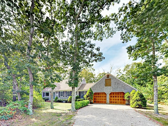 Spacious Eastham Home with Expansive Deck & Yard