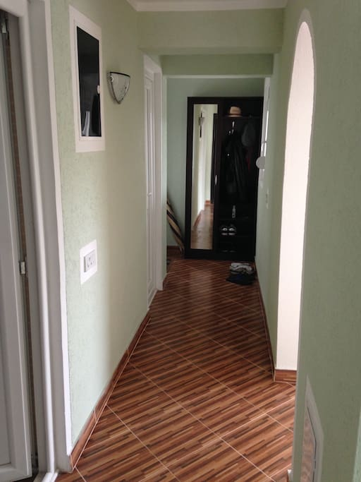 Corridor to living room at the first floor