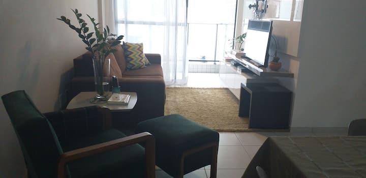 Lindo apartamento no farol-Maceió