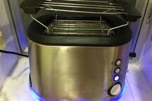 Modern Bread Toaster with Hangers. 优质多士炉及大包烘架