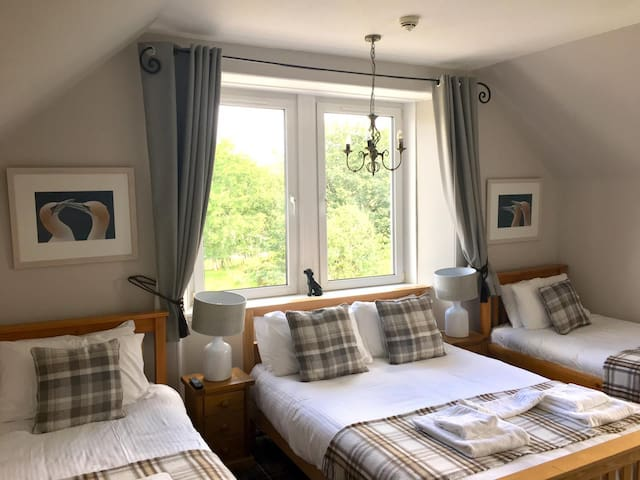 Whitebridge Hotel, nr Loch Ness, Family Room