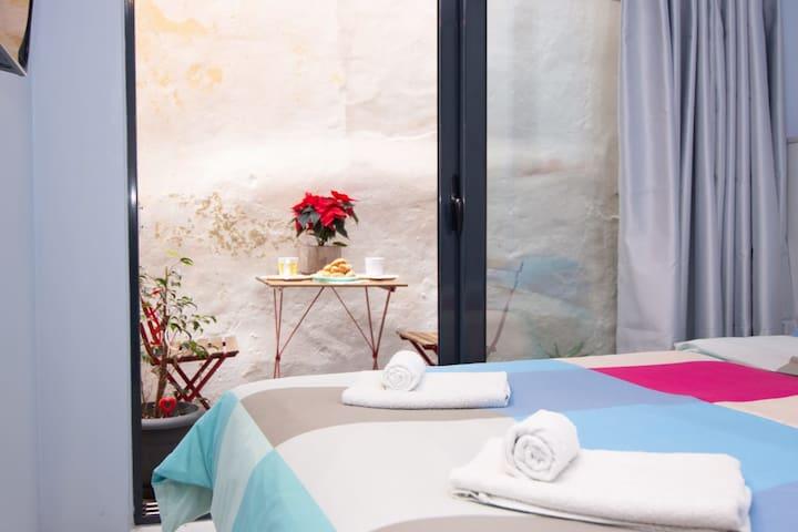 Luxury studio in Greek island style