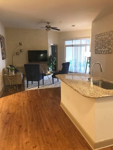 Spacious 2*2 -great pool view and private balcony