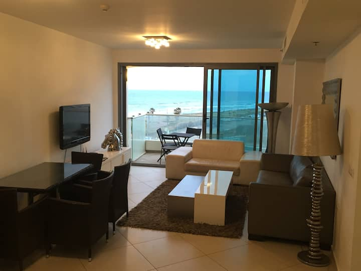 Luxury Hotel Apartment -West Boutique TLV -SeaView