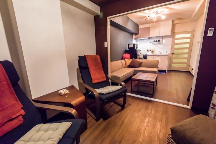NEW6, 新家, Shinsaibashi(心斎橋), Doutonbori(道頓堀) - Osaka - Apartment