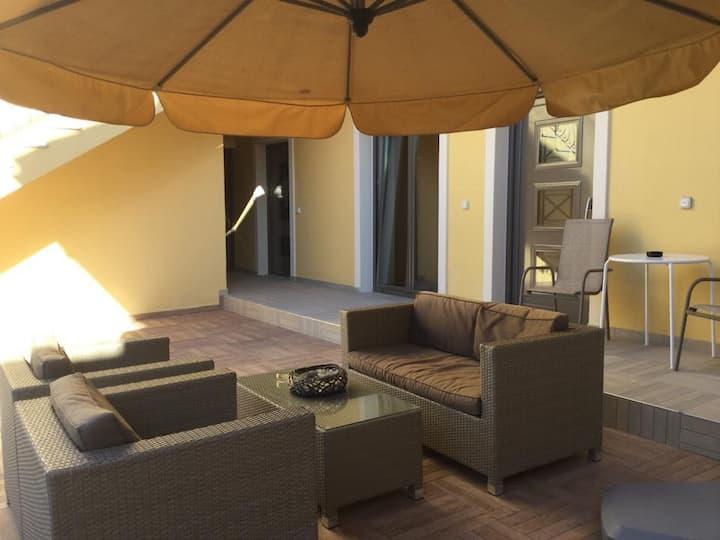Villa Marinos Ground Floor apartment with Garden