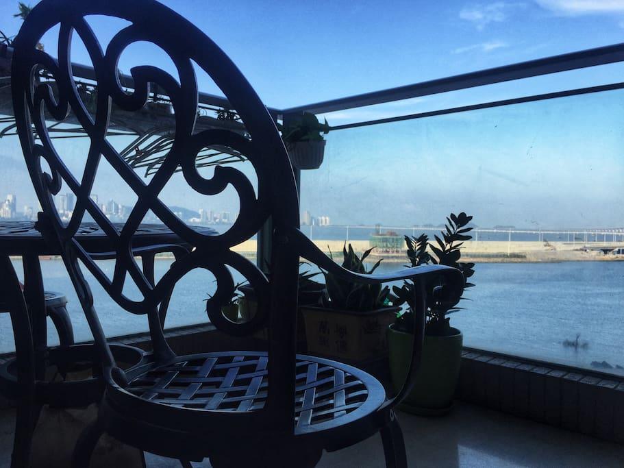 Balcony 陽台 无敌海景 skyview