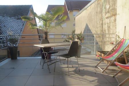 T3 75m² avec terasse 25m² à 20 min d' Annecy - Rumilly - Appartamento