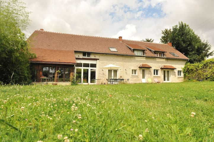 Grande maison de famille idéale pour groupes - Lescherolles - Casa