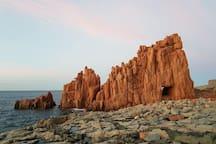 Le Rocce Rosse - Arbatax (2,4 Km)
