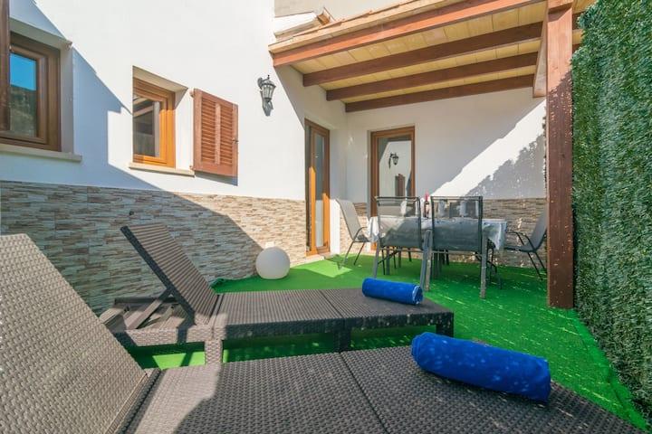 MAFLORAS LUXURY&BEACH APARTAME - Apartment with private garden in Cala Millor. Free WiFi