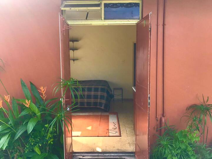 Garden View Studio Apartment:  (All to yourself!)