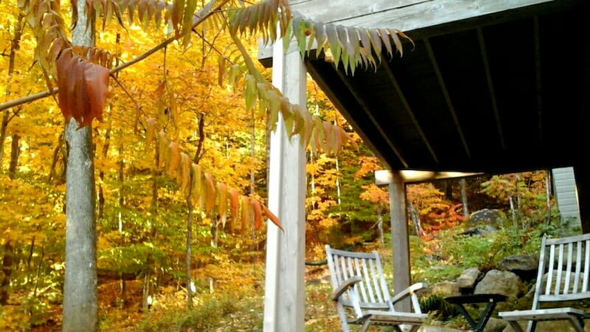 L'Ôm d'Elf  Gîte en montagne - Sainte-Adèle - Bed & Breakfast