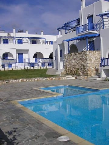 Residence Le Grand Bleu1, Apartment in Aliki,Paros