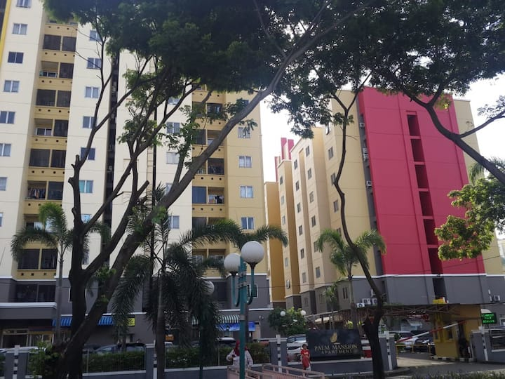 Palm Mansion, Homy, 2BR, WIFI, Monthly/Yearly Rent