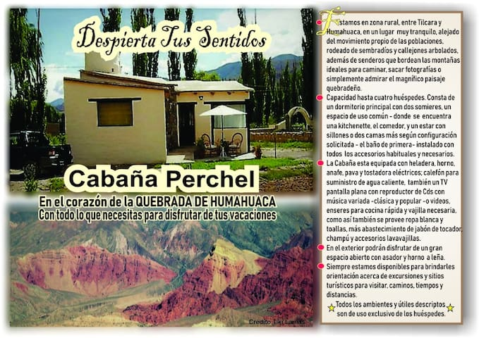 Cabaña Perchel - Quebrada de Humahuaca