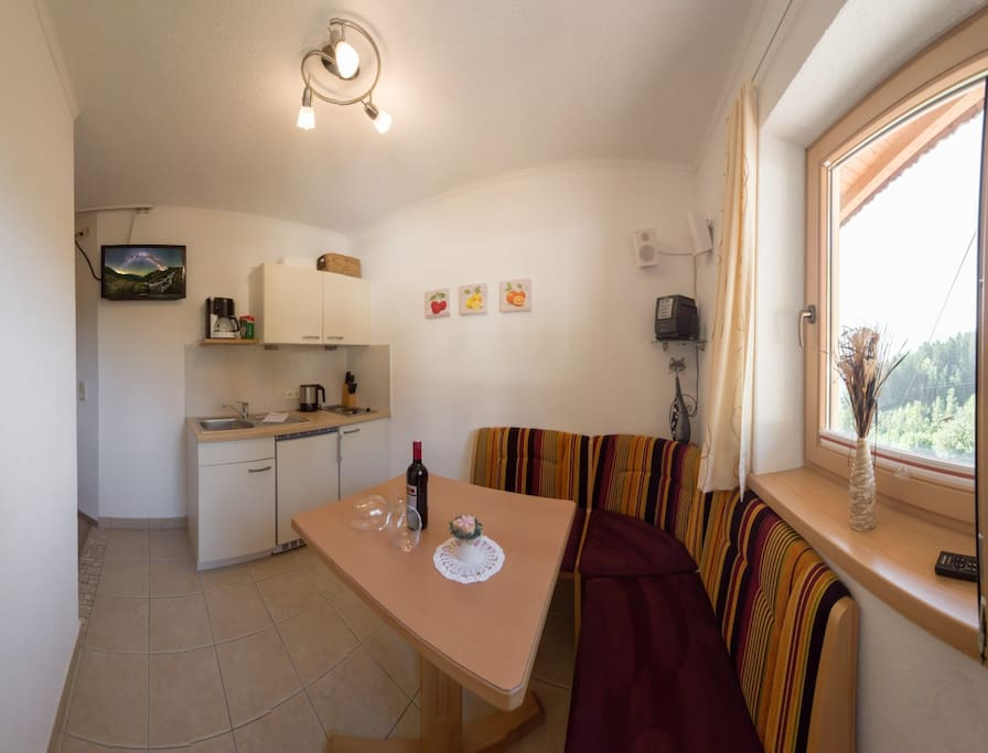 Küche Studio Abendsonne