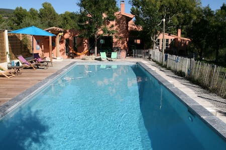 Bright house with big swimming pool in the Luberon - La Motte-d'Aigues