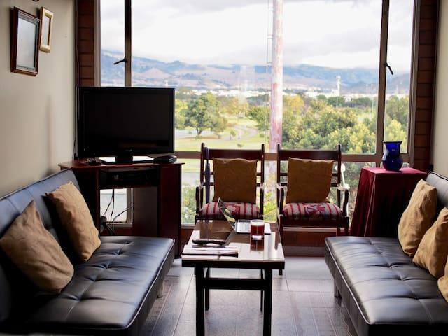 Apartamento Cómodo con Vista Espectacular