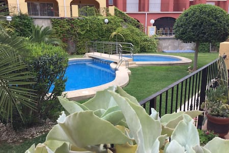 Townhouse with Pool for Families - Sanet y Negrals - Σπίτι