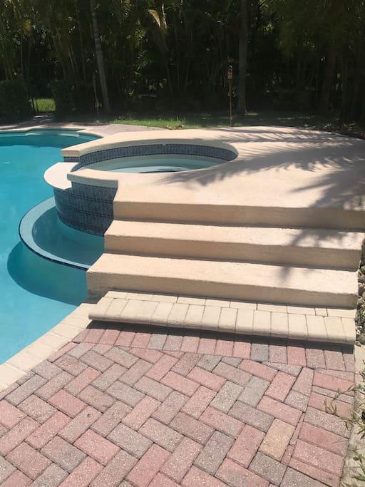 Access to Beautiful pool
