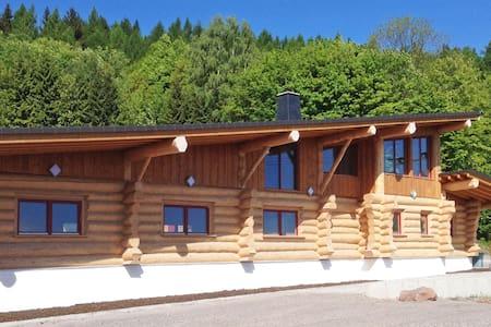 Freizeitanlage Blockhaus mit Apartmenthäusern - Langewiesen