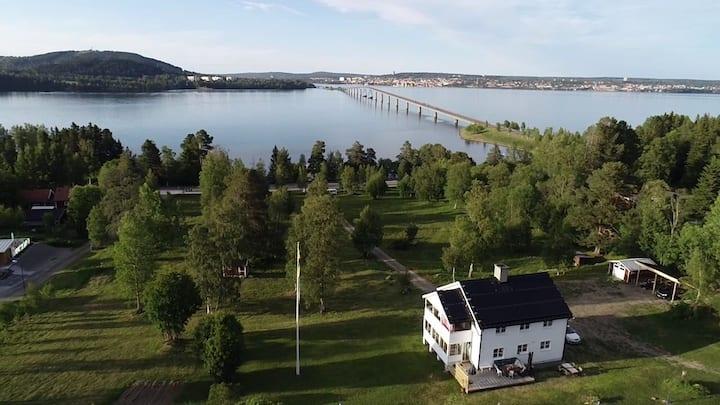 Idyllic villa close to Östersund city