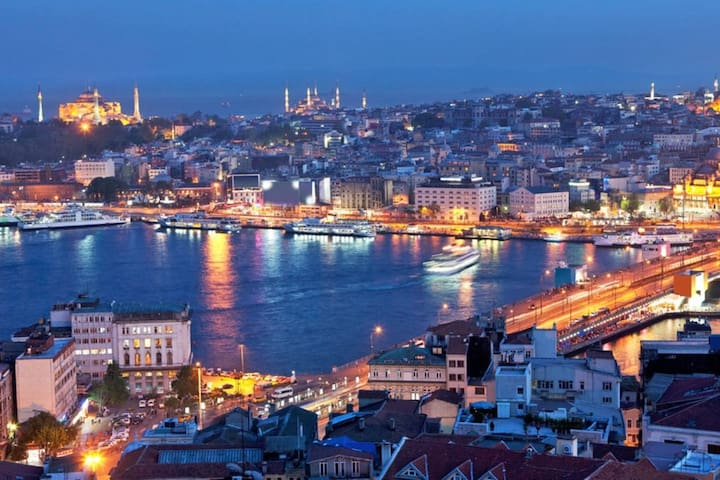 30 minutes walk to Taksim Square