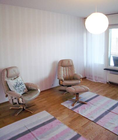 Spacious and luminous apartment