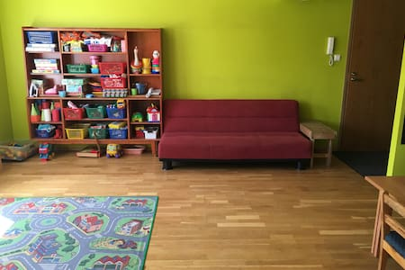 Child-friendly apartment near the city centre - Tartu