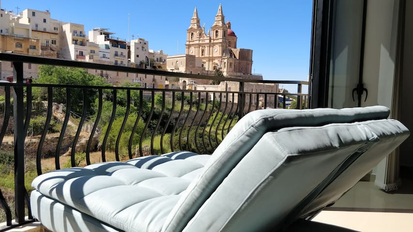 Romantic Mellieha Valley & Seaviews & Relaxation