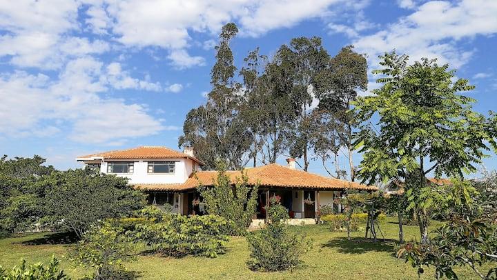Casa campestre Acuarela Mesa de los Santos