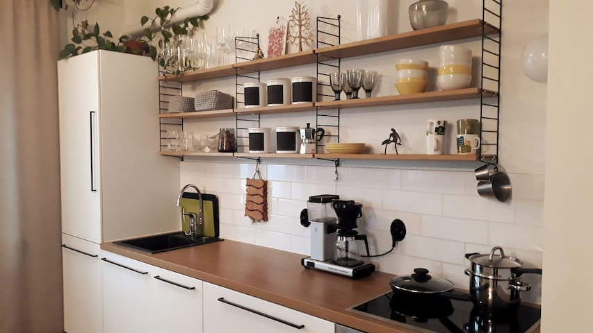Two-room apartment next to city center