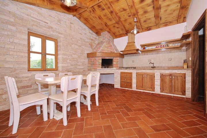 One bedroom Remote cottage, in Pašman