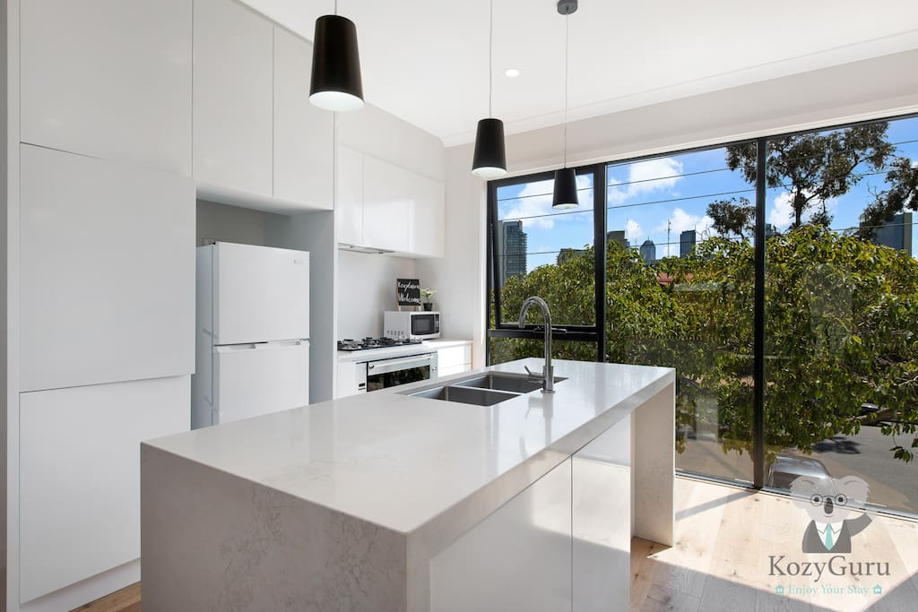 Brand New Kitchen with Fully Equipped