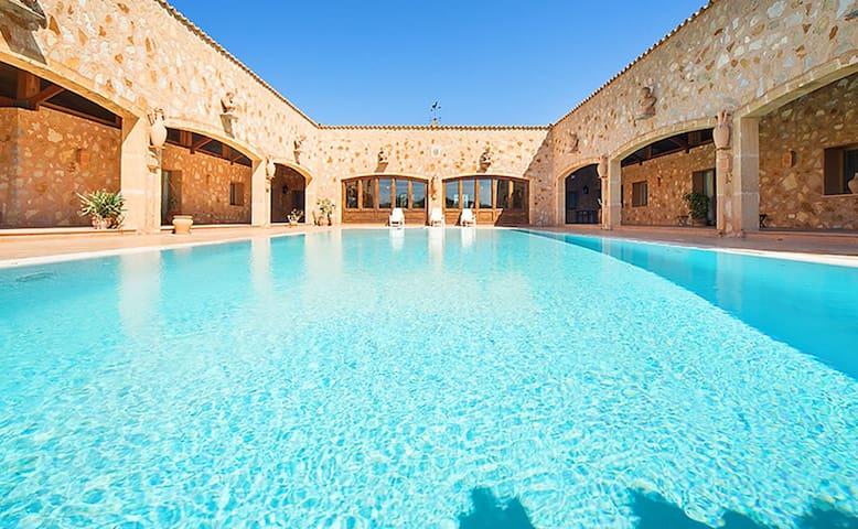 Finca Los Gallos Mallorca - Sencelles - Villa