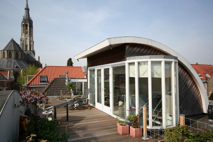 Modern house in historical centre - Delft - Apartament