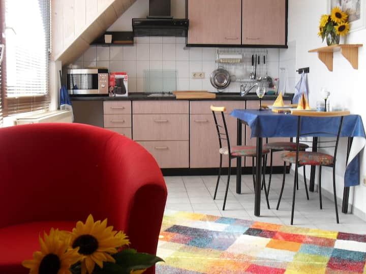 Ferienwohnung Berghaas, (Schonach), Ferienwohnung Berghaas, 42qm, Balkon, 1 Schlafzimmer, max. 2 Personen
