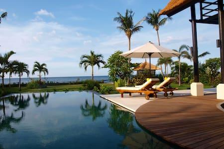 Amazing luxury beach front villa!
