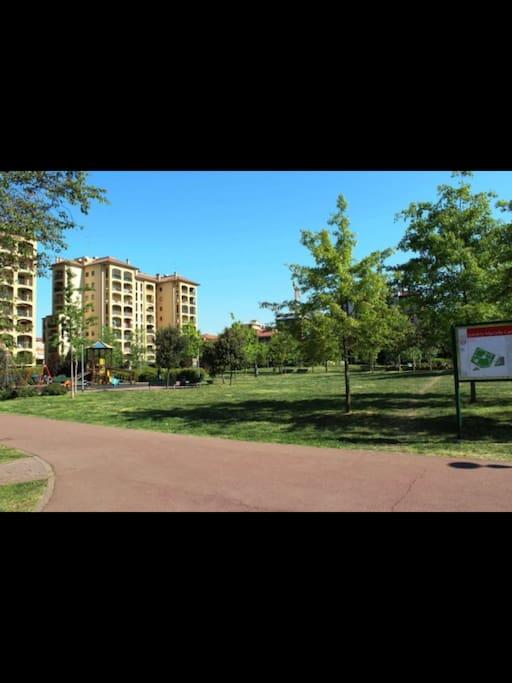 Parco sotto casa