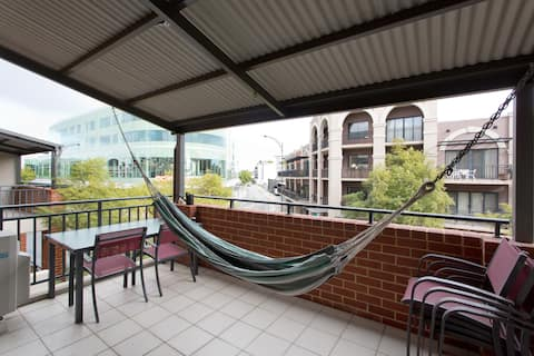 Life's better in a hammock (Subiaco)