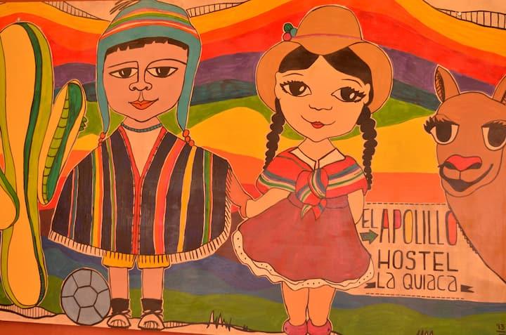 El Apolillo hostel La Quiaca