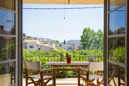 Beautiful flat in the middle of an orange grove